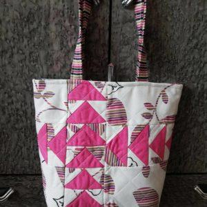 Лоскутная сумка «Гуси-лебеди» от Ирины Рощиной