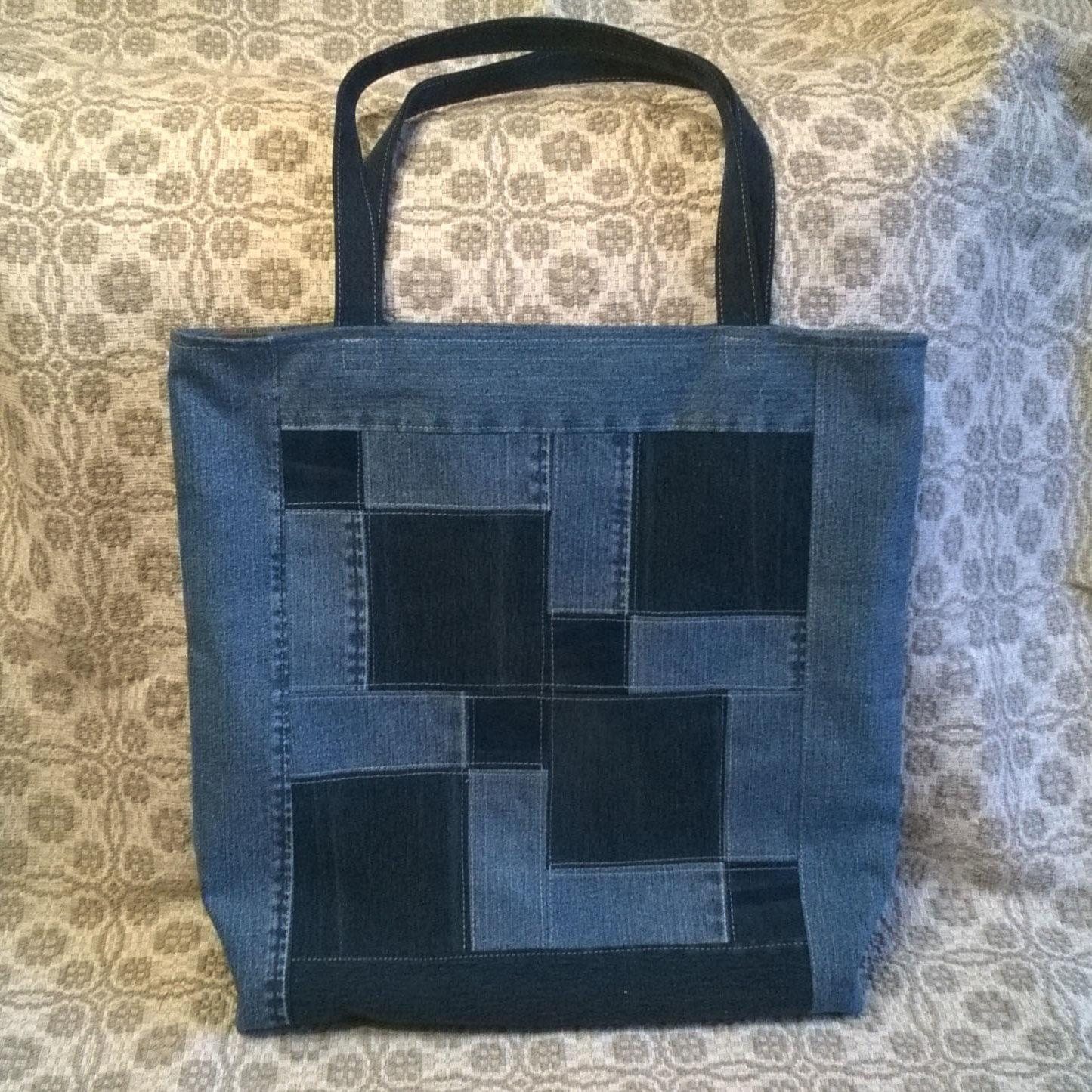 Готова моя джинсовая сумка — Даце Ваитилавича (Vaitilaviča Dace)